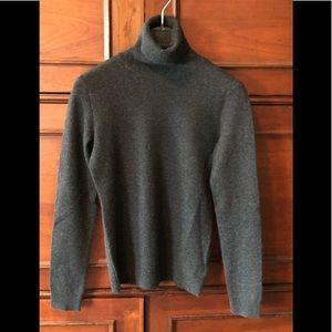 Ralph Lauren Petites Cotton Turtleneck Sweater. M
